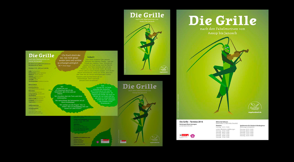 Theater-Produktion: Die Grille